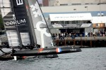 Energy Team America s Cup World Series San Diego Match Racing demi-finale vs Artemis 1.JPG