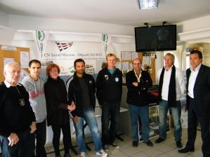 Jean Baptiste Bernaz annonce sélection olympique JO2012 CN Sainte Maxime