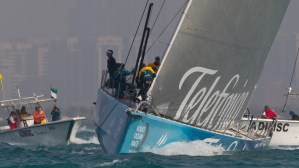Volvo Ocean Race: Telefónica make it three from three with Sanya victory