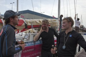 Solitaire du Figaro: Yann Eliès vainqueur de la première étape