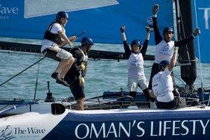Extreme Sailing Series: Leigh McMillan wins closest Extreme Sailing Series Act this year in Istanbul