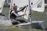 Jean-Baptiste Bernaz Laser Delta Lloyd Regatta 2012 © Sander van der Borch