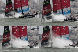 Louis Vuitton Cup : Emirates Team New Zealand survives nosedive, wins first race of Final