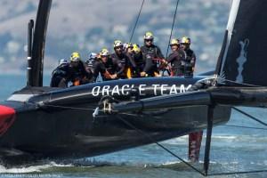 America's Cup : ORACLE TEAM USA poursuit la défense de son titre