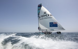 Extreme Sailing Series : Big breeze final race shoot out in Muscat sees The Wave, Muscat snatch victory