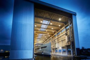 Feadship launches the world's first hybrid superyacht