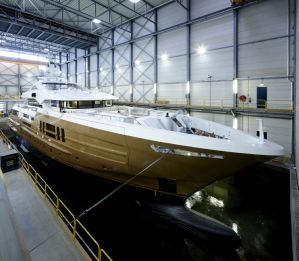 Heesen Yachts launches Azamanta, 55m fast displacement yacht