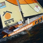 Lorient, défi Azimut, Mono 60 pieds PRP, Skippers, Vinvent Riou et Sebastien Col