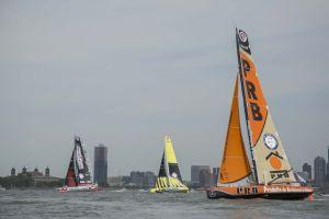 Début de course perturbé pour la flotte de la Transat New York-Vendée