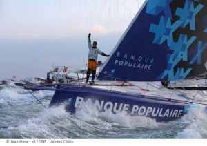 Armel Le Cléac'h wins the Vendée Globe 2016-17 in record time