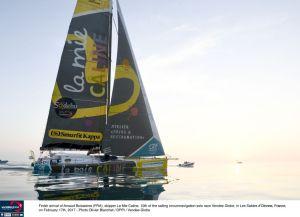 Vendée Globe : Arnaud Boissières prend la 10ème place