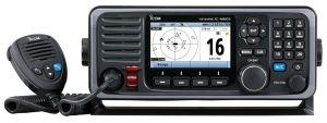 L'IC-M605EURO : nouvelle VHF marine fixe haut de gamme