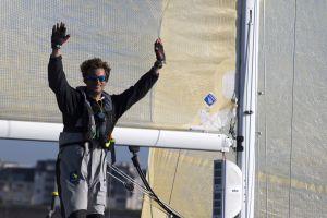 Victoire de Charlie Dalin sur la Solo Concarneau – Trophée Guy Cotten 2017