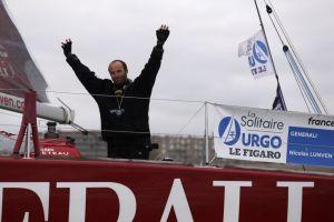 Solitaire URGO – Le Figaro : Nicolas Lunven, « C'est le plus beau moment de ma carrière ! »