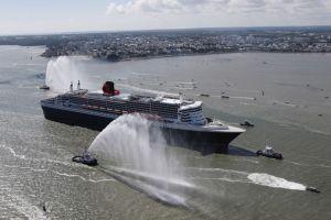 THE BRIDGE : Le retour du Queen Mary 2 à Saint-Nazaire lance les festivités du Centenaire