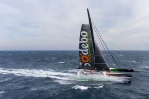 Sodebo Ultim' smashes record to win Transat Jacques Vabre