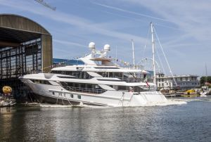 Launch of Benetti MY Blake