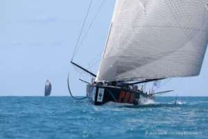 Route du café : IMOCA podium decided as PRB hold off Charal in epic finish