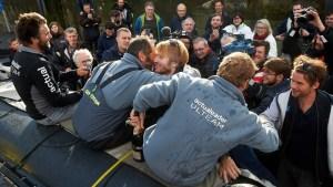 Le trimaran MACIF et Actual Leader complètent le podium de Brest Atlantiques 2019
