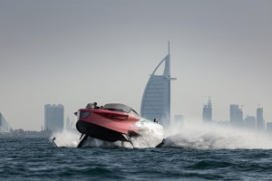 The Foiler is the smartest yacht on – and above – the water
