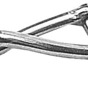Collana 2jewels In Acciaio 316l Pvd Oro Rosa Cristallo Ancora