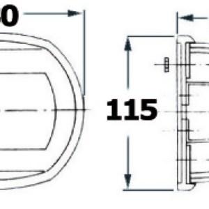 Icemaker Con Connessione Alla Rete Idrica Door Inside Unit Interna 12 V Im Hydro Xtp Vitrifrigo