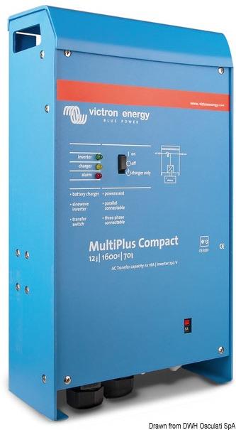 Sistema Victron Multiplus 1600 W 24v 14 268 06 Osculati