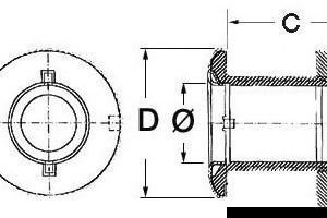 Anodo Alluminio Verado Rif 880653 43 424 13 Osculati