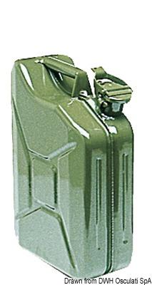 Tanica Benzina Metallo 10 L 18 349 10 Osculati