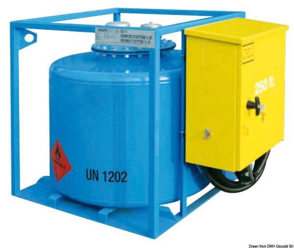 Serbatoio Benzina 250 L Adr Con Contalitri 18 409 25 Osculati