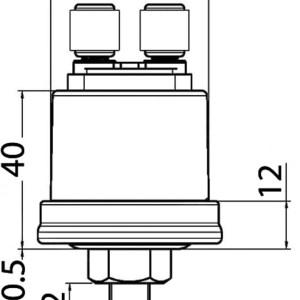 Congelatore Congelatore A Cassetto Doppio Con Icemaker Lt 144 Unit Interna 230 V Dw 180 Btx Im Vitrifrigo