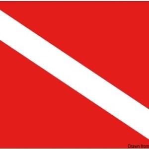 Bandiera Sub 20 X 30 Cm 35 480 01 Osculati