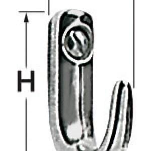 Gancetto Inox 33x53 Mm 38 313 45 Osculati