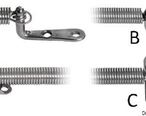 Metallo Tc 5x50 Aisi 316 316 84 5x50 A4 84 05x050 Osculati