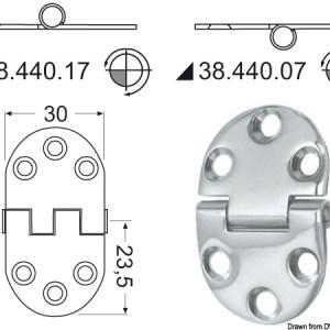 Ammortizzatore Classic 159 Mm 01 496 01 Osculati