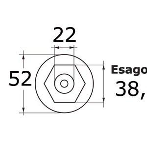 Innesto Ottone Maschio 14 236 45 Osculati
