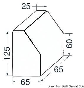 Anodo Tronco Conico Alluminio Vetus 43 901 01 Osculati