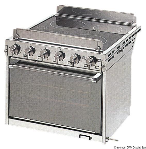 Cucina Elettrica Con Forno 50 390 04 Osculati