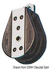Musone Inox 210 X 57 Mm Con Blocco 01 484 13 Osculati