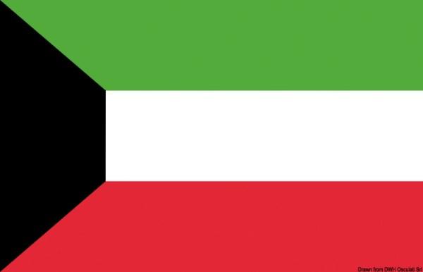 Bandiera Kuwait 40 X 60 Cm 35 435 03 Osculati