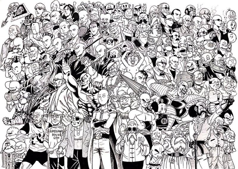illustrations en noir blanc ultra badass