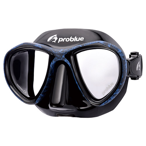 Problue Freediving Mask Camou Blue MS-249B-C