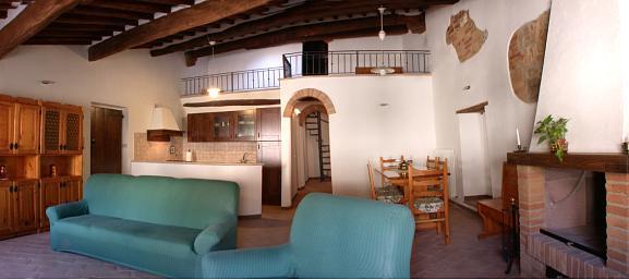 Alla Collegiata Appartamento in San Quirico dOrcia flat to let in San Quirico dOrcia