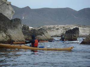 8 nautilus wooden kayaks Cabo de gata 2017 preciosa foto con patapalo
