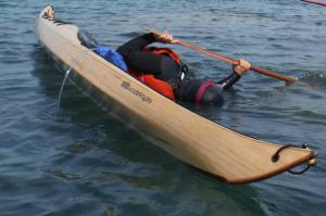 sculling for diving