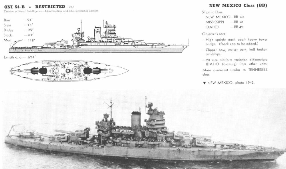 medium resolution of the new mexico only innovated by a clipper bow and the class was part of a design concept giving the navy a homogeneous line of battle