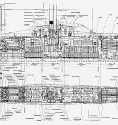 type viib german u boat diagram wiring diagram blog diagram wwii u boat [ 2900 x 1369 Pixel ]