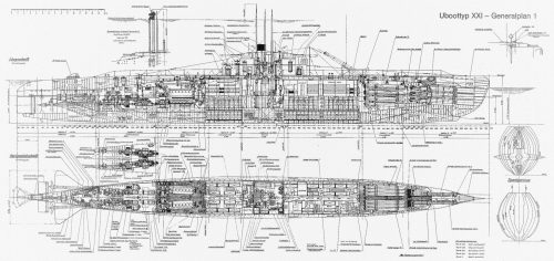 small resolution of german xxi u boat diagram wiring diagram autovehicle german xxi u boat diagram