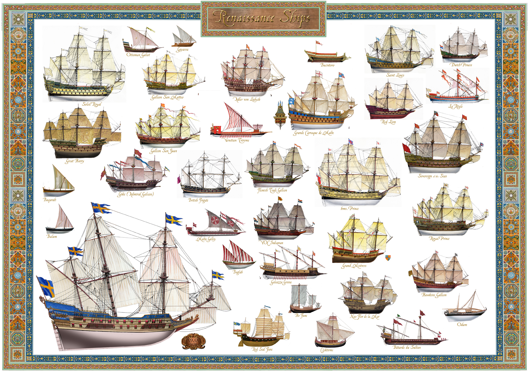 Renaissance Ships The Age Of Exploration And First Fleets