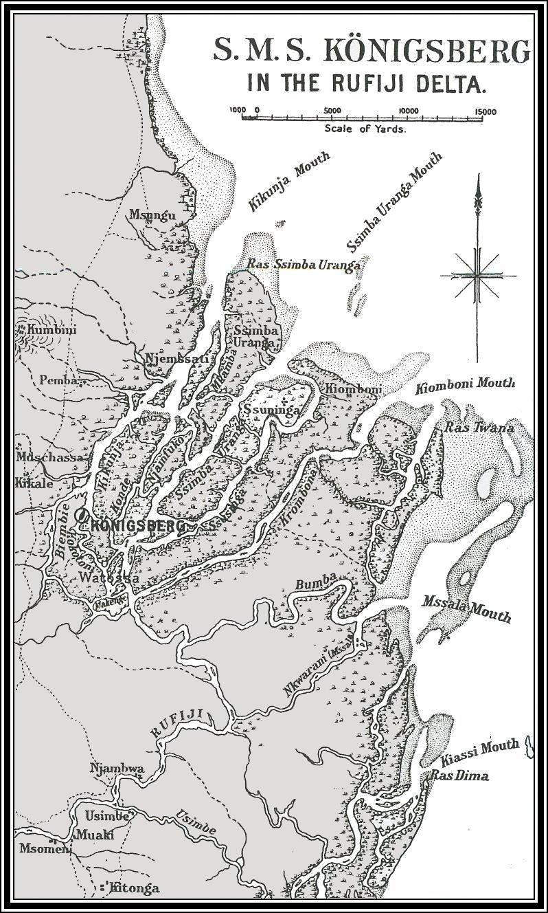 11/7/1915 Battle of the Rufiji Delta: doom of the Königsberg | World